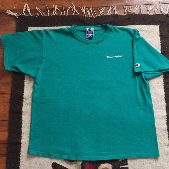 f12cc2771308 Champion Other - Rare🔥90s Vintage Champion Teal T-shirt